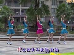杨丽萍广场舞《敖包再相会》原创草原风民族舞 附正背面口令分解教学演示