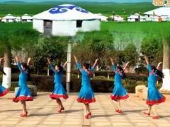 江西鄱阳春英广场舞《乌兰姑娘》原创舞蹈 附正背面口令分解教学演示