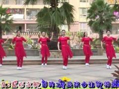 杨丽萍广场舞《前世修来今生的爱》原创舞蹈 附正背面口令分解教学演示