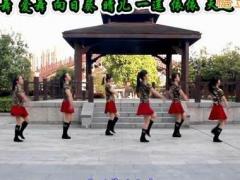 太湖一莲广场舞《万树繁花》原创水兵舞入门舞 附正背面口令分解教学演示