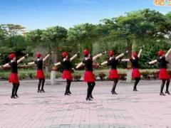 云裳馨悦广场舞《红马鞍》原创舞蹈 附正背面口令分解教学演示