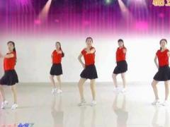 济南朵朵广场舞《健康动起来》原创团队版 附正背面口令分解教学演示