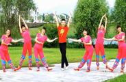 楠楠广场舞《与爱共舞》原创舞蹈 附正背面口令分解教学演示