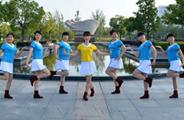 动动广场舞《家乡的姑娘真漂亮》原创舞蹈 附正背面口令分解教学演示