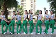 杨丽萍广场舞《人生不能没有爱》原创初级广场舞 附正背面口令分解教学演示