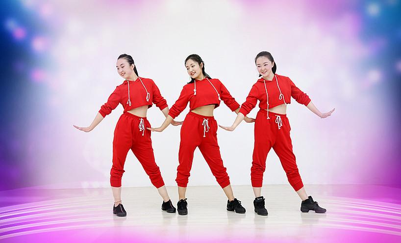 糖豆广场舞课堂《摇起来嗨起来》编舞珊珊 附正背面口令分解教学演示