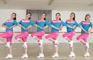 刘荣广场舞《喜气洋洋财神到》原创舞蹈 附正背面口令分解教学演示