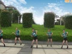 抚州左岸风情广场舞《尊巴舞》原创舞蹈 附正背面口令分解教学演示