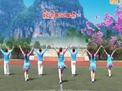 青儿广场舞《情歌赛过春江水》原创16步单人水兵舞 附正背面口令分解教学演示