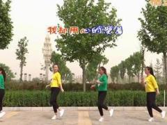 巨鹿霓裳依依广场舞《女人没有错》原创步子舞 附正背面口令分解教学演示
