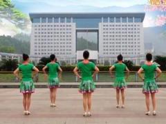 吉美广场舞《洁白的雪莲花》原创健身舞 附正背面口令分解教学演示