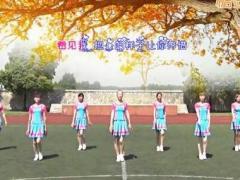 青儿广场舞《你若不离》原创舞蹈 附正背面口令分解教学演示
