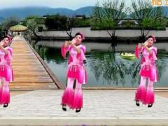 游城广场舞《水墨雪》原创舞蹈 附正背面口令分解教学演示