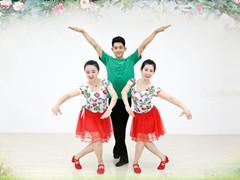 糖豆广场舞课堂《最美的中国》编舞君君 附正背面口令分解教学演示