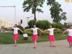 沭河之光广场舞《做你的雪莲》原创舞蹈 附正背面口令分解教学演示