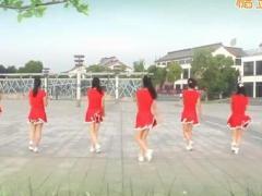太湖一莲广场舞《眉飞色舞》原创动感步子舞 附正背面口令分解教学演示