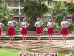 杨丽萍广场舞《爱的深伤的深》原创韵律舞 附正背面口令分解教学演示