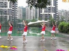 重庆叶子广场舞《排舞夏夜恰恰》原创舞蹈 附正背面口令分解教学演示