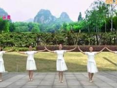 苏州盛泽雨夜广场舞《玉水云屏》原创舞蹈 附正背面口令分解教学演示