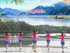 青儿广场舞《花儿为你开》原创大众健身舞 附正背面口令分解教学演示