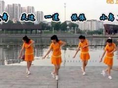 太湖一莲广场舞《吉祥》原创水兵风格舞 附正背面口令分解教学演示