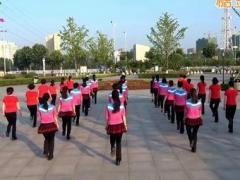 沭河之光广场舞《男人女人不容易》原创健身舞 附正背面口令分解教学演示