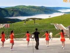 凤凰六哥广场舞《南泥湾》原创水兵舞 附正背面口令分解教学演示