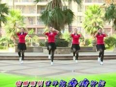 杨丽萍广场舞《你是我的佛》原创民族健身操 附正背面口令分解教学演示