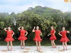 慧慧广场舞《丰收中国》原创舞蹈 附正背面口令分解教学演示