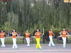 舞动旋律2007健身队《草原风吹过》原创舞蹈 附正背面口令分解教学演示