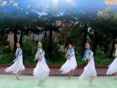 天姿广场舞《爱不在就放手》原创舞蹈 附正背面口令分解教学演示
