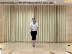 应子广场舞《天赐缘》原创舞蹈 附正背面口令分解教学演示