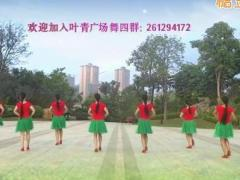 陆川叶青广场舞《草原风吹过》原创舞蹈 附正背面口令分解教学演示