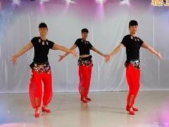 吉美广场舞《零度桑巴》原创印度舞 附正背面口令分解教学演示
