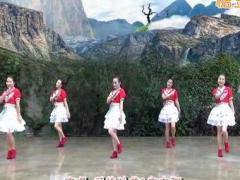 兰州莲花广场舞《盼情缘》原创舞蹈 附正背面口令分解教学演示