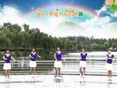 青儿广场舞《亲爱的我爱你》原创健身舞 附正背面口令分解教学演示