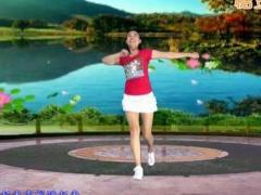 济南朵朵广场舞《幸福跳起来》原创舞蹈 附正背面口令分解教学演示