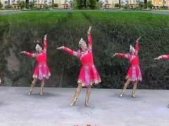 兰州莲花广场舞《草原的夏天》原创蒙古舞 附正背面口令分解教学演示