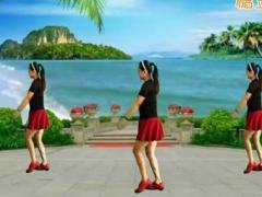 漓江飞舞广场舞《三月三日唱山歌》原创舞蹈 附正背面口令分解教学演示