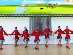 刘荣广场舞《草原风吹过》原创舞蹈 附正背面口令分解教学演示