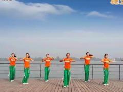 舞动旋律2007广场舞《中国节拍》原创舞蹈 附正背面口令分解教学演示