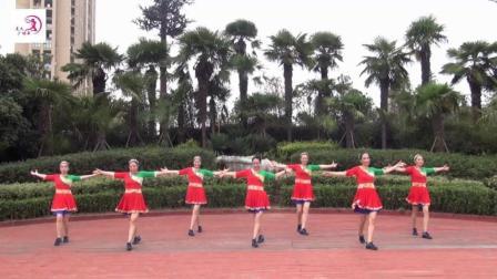 美久广场舞《China》原创多风格舞 附正背面口令分解教学演示