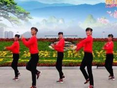 吉美广场舞《童年》原创健身操 附正背面口令分解教学演示