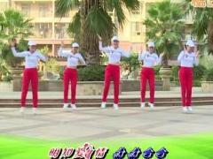 杨丽萍广场舞《再不爱我就老了》原创强力廋身操 附正背面口令分解教学演示