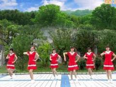 蝶依广场舞《中国V5》原创入门舞 附正背面口令分解教学演示