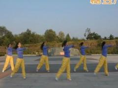 龙都舞动晨韵广场舞《当》原创有氧健身操 附正背面口令分解教学演示