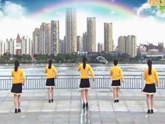 青儿广场舞《旺旺驾到》原创健身舞 附正背面口令分解教学演示