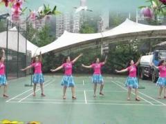重庆叶子广场舞《千年丝路》原创舞蹈 附正背面口令分解教学演示