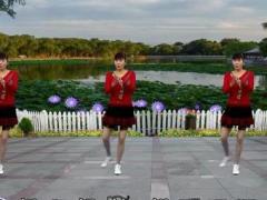龙游红飞舞广场舞《我等到花儿也谢了》原创舞蹈 附正背面口令分解教学演示