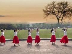 午后骄阳广场舞《新阿瓦古丽》原创舞蹈 附正背面口令分解教学演示